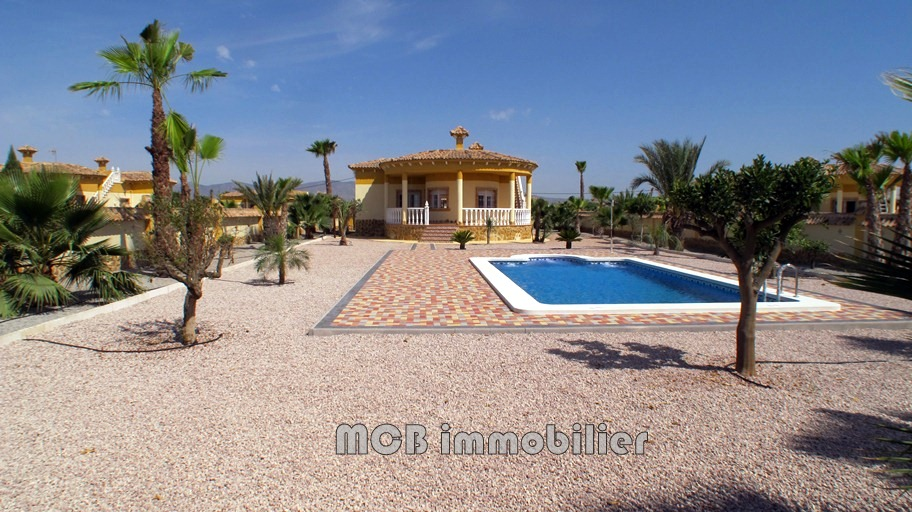 A vendre villa piscine catral costa blanca mateo for Prix piscine posee