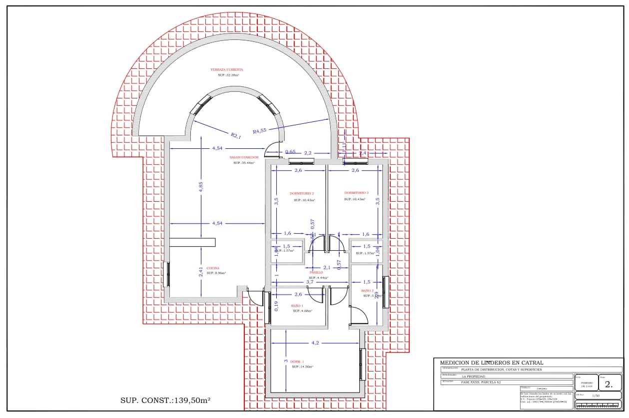 Plan Type maison 3 chambres