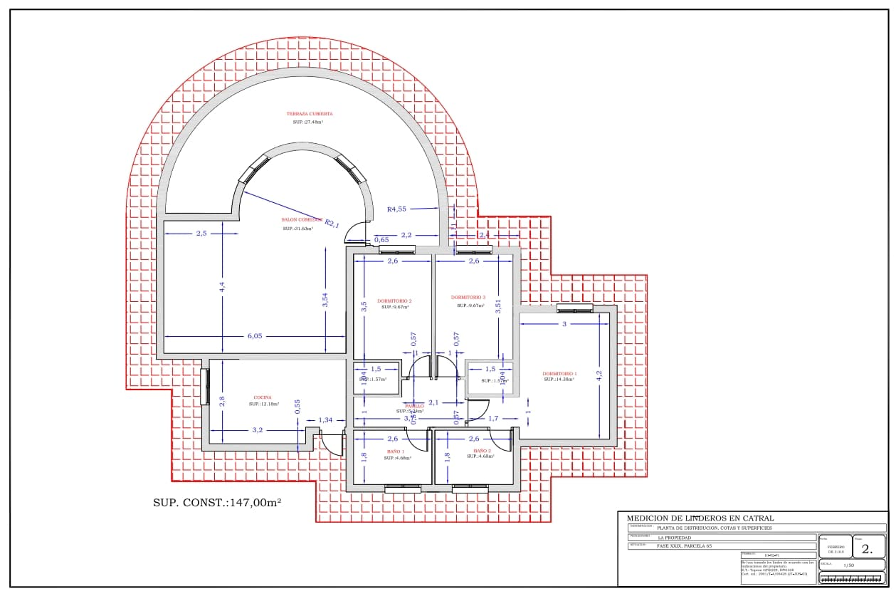 Plan type maison 4 chambres