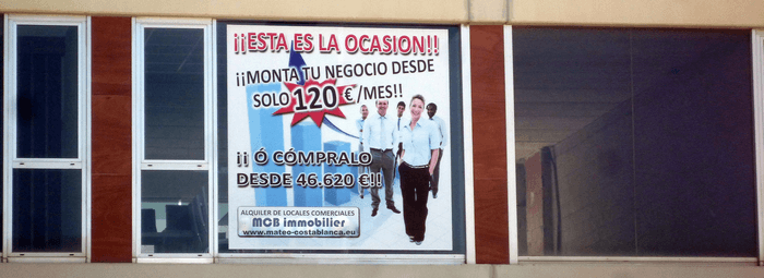 MCB immobilier Costa Blanca - local commercial