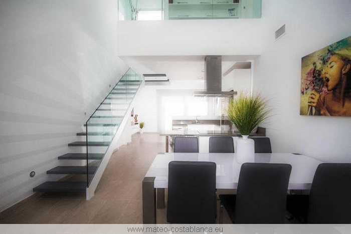 Villa contemporaine neuve for Villa design interieur