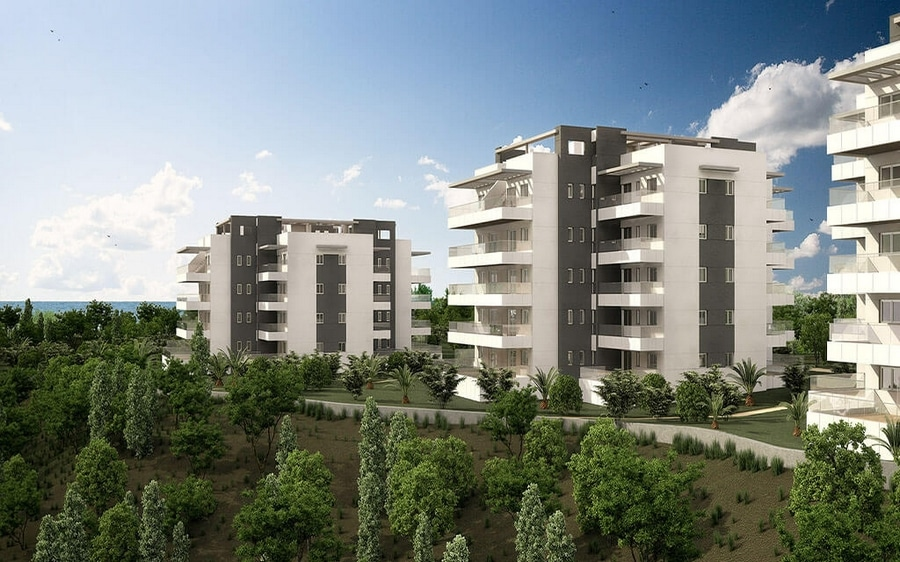 Green hills luxueux appartements avec spa et gym mcb for Appartement neuf design