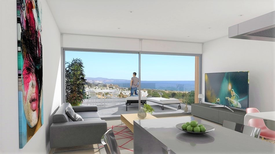 Appartements neufs vue mer gran alacant mcb immobilier for Appartement neuf design