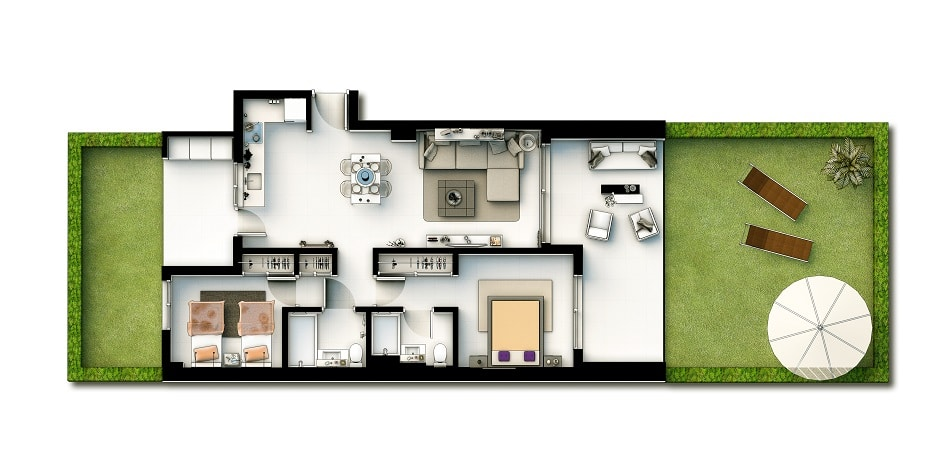 Appartements 2 chambres v2