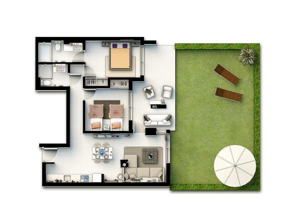 Appartements 2 chambres