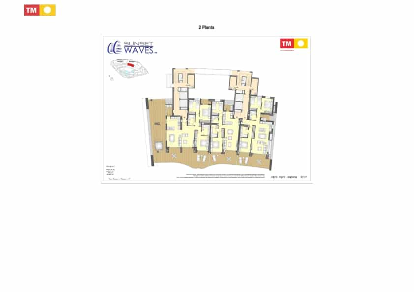 Plan appartement type 3 chambres